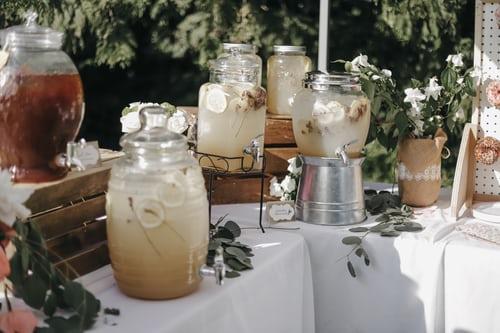 Seasonal drinks reception ideas