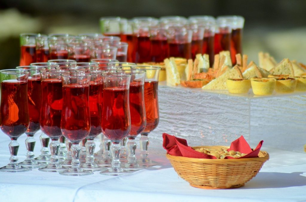 Your drinks reception - What to think about