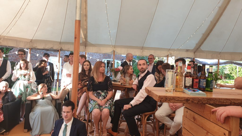 Sam and Lucys Marquee Wedding
