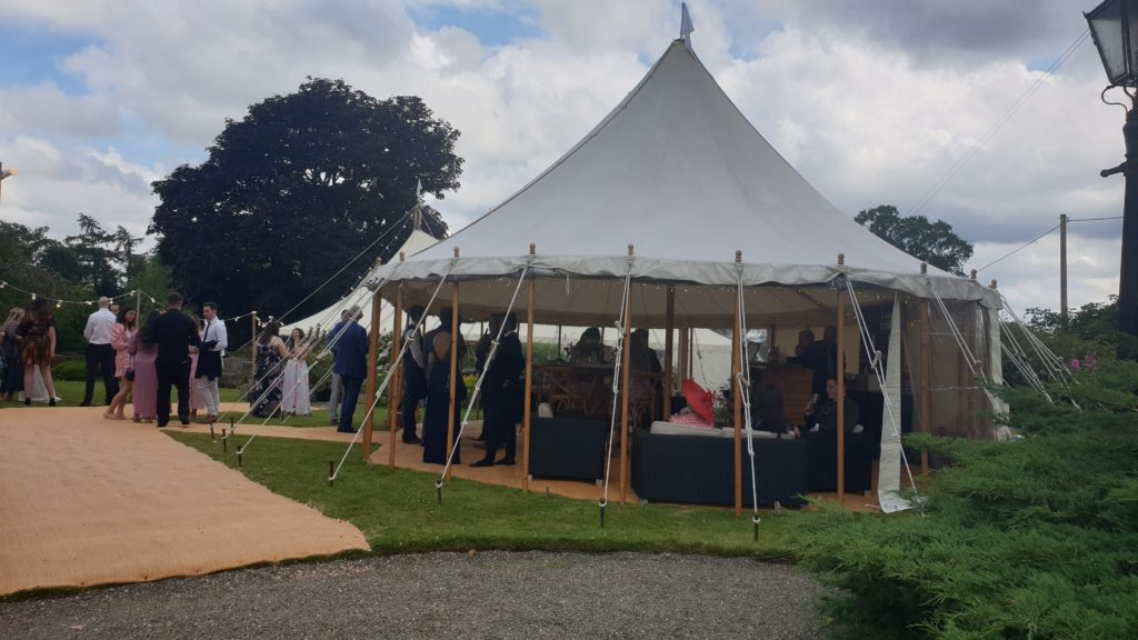 Lucy and Sam's Marquee Wedding, July 2021