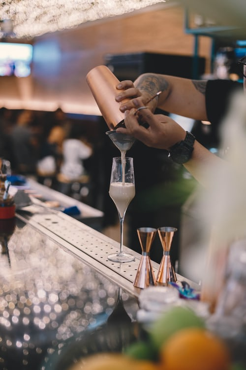 How many bar staff for your wedding